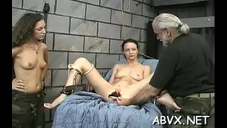 Bare chicks roughly playing in bondage xxx amateur Xvideos