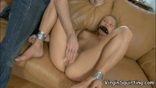 Beautiful Blonde Babe Squirts With Orgasm