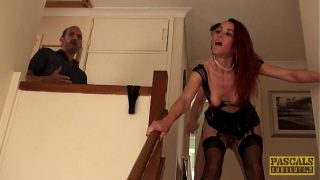 English wifey whore ass fucked to pay off debt