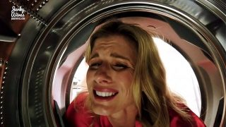 Fucking My Stuck Step Mom in the Ass while she is Stuck in the Dryer