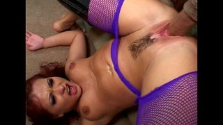 horny mature babe having hardcore fuck with huge cock friend