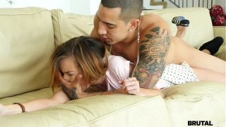 Hot Step sister Kaylee Haze ruthlessly fucked teen sex