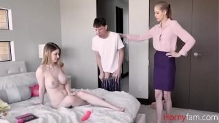 Mom f. Daughter To Fuck Son As Punishment- Bunny Colby