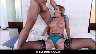 Sexy Milf Step Mom Found Tied Up And Fucked By Step Son